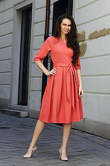 Šaty - Zavinovacie šaty Ariel - 10602842_