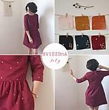 Šaty - HViEZDnA .šaty (Oranžová) - 10600062_