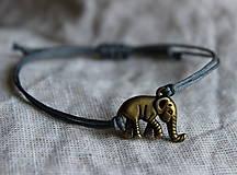 """Náramky - náramok """"slon šťastia"""" - 10600415_"""
