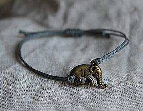 """Náramky - náramok """"slon šťastia"""" - 10600416_"""
