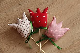 Dekorácie - Tulipány - 10601624_