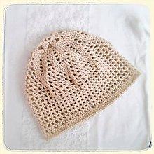 Detské čiapky - Jarná čiapka - 10601929_