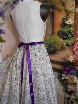 """Šaty - Maľované šaty """" Lúka plná materinej dúšky """" - 10601414_"""