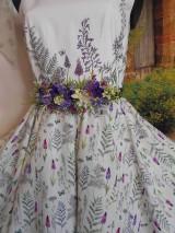 """Šaty - Maľované šaty """" Lúka plná materinej dúšky """" - 10601416_"""