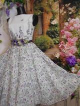 """Šaty - Maľované šaty """" Lúka plná materinej dúšky """" - 10601417_"""