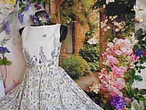 """Šaty - Maľované šaty """" Lúka plná materinej dúšky """" - 10601418_"""