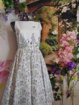 """Šaty - Maľované šaty """" Lúka plná materinej dúšky """" - 10601695_"""