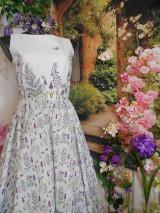 """Šaty - Maľované šaty """" Lúka plná materinej dúšky """" - 10601696_"""