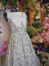 """Šaty - Maľované šaty """" Lúka plná materinej dúšky """" - 10601702_"""