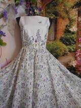 """Šaty - Maľované šaty """" Lúka plná materinej dúšky """" - 10601715_"""