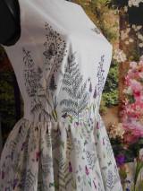 """Šaty - Maľované šaty """" Lúka plná materinej dúšky """" - 10601736_"""