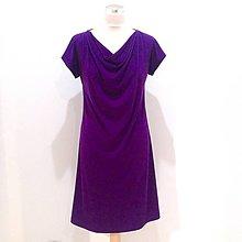 Šaty - Šaty s vodou FIALOVÉ - 10599081_