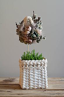 Dekorácie - Veľkonočné vajíčko - 10602063_
