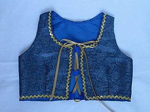 Detské oblečenie - dievčenský lajblík - živôtik ku kroju - 10602176_