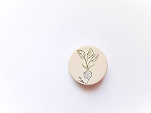Odznaky/Brošne - brošňa zelenina - 10600602_