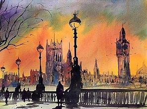 Obrazy - Londyn II - 10602254_