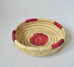Košíky - Egyptian snacks plate | Pletený palmový kôšík - 10600055_