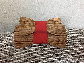 Detské doplnky - Drevený motýlik- detský - 10599800_