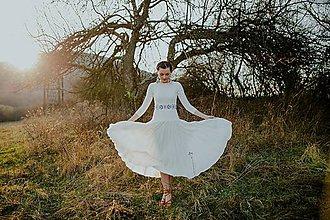 Šaty - Plisované šaty Slavianka - 10599654_