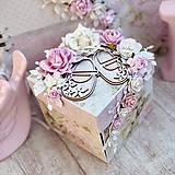 Papiernictvo - Exploding box- darčeková krabička - 10599198_