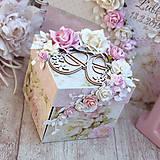 Papiernictvo - Exploding box- darčeková krabička - 10599199_