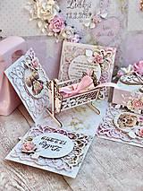 Papiernictvo - Exploding box- darčeková krabička - 10599204_