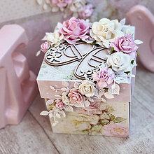Papiernictvo - Exploding box- darčeková krabička - 10599200_