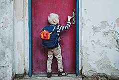 Detské tašky - nosha do školy - atrament - 10599480_