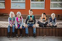 Detské tašky - nosha do školy - atrament - 10599492_