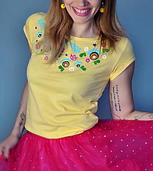 Tričká - Tričko Sandy - skladom XS, S, M, L - 10599276_