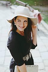 Šaty - Šaty na dojčenie ME TOO - čierne - 10602267_