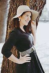 Šaty - Šaty na dojčenie ME TOO - čierne - 10602268_