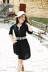Šaty - Šaty na dojčenie ME TOO - čierne - 10602269_