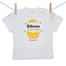 Detské oblečenie - Originálne Veľkonočné tričko Šibem len za eura - 10599589_