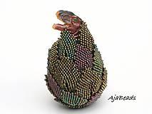 Dekorácie - Vajce - dinosaurus - 10599989_