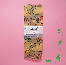 Úžitkový textil - Voskovaný obrúsok - Jednorožce - 10602116_
