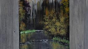 Obrazy - Tichá voda - 10599289_