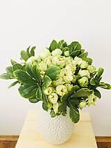 Kytice pre nevestu - gratulačná alebo svadobná kytica zo živých ruží - 10600559_