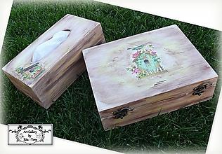 Krabičky - Krabica na čajové vrecúska
