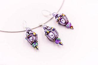 Sady šperkov - Perlová korálková sada - 10599414_
