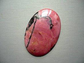 Minerály - Luxusní kabošon rodonitu 48 mm, č.17f - 10602642_