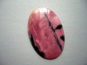 Minerály - Luxusní kabošon rodonitu 51 mm, č.18f - 10602661_