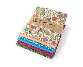 Textil - Bavlnené látky - balíček TFQ134 - 10600199_