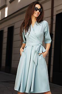 Šaty - Zavinovacie šaty Alice - 10603373_