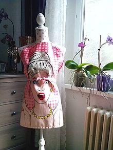Iné oblečenie - Retro kuchynská zásterka (Pin Up dievča) - 10604151_