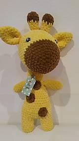 Hračky - Žirafka pre potešenie - 10603451_