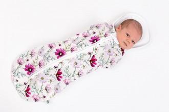 Textil - Tenká zavinovačka na leto Mimi kvietok - 10603793_