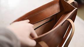 Veľké tašky - Odesa - kožená taška - 10603862_