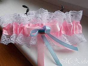 Bielizeň/Plavky - svadobný podväzok XIII. - 10605345_
