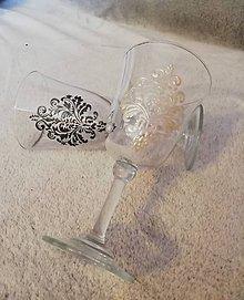 Nádoby - Royal elegance svadobné poháre - 10603243_